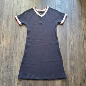 Abercrombie and Fitch Varsity Waffle Knit Dress